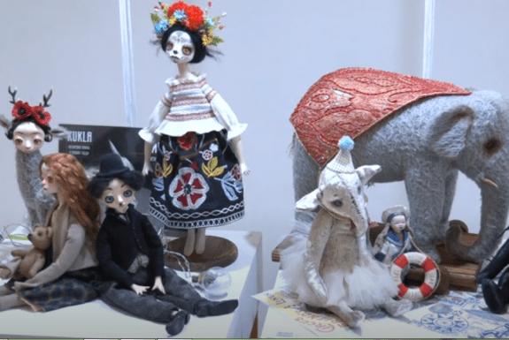 В Гомеле прошла выставка кукол